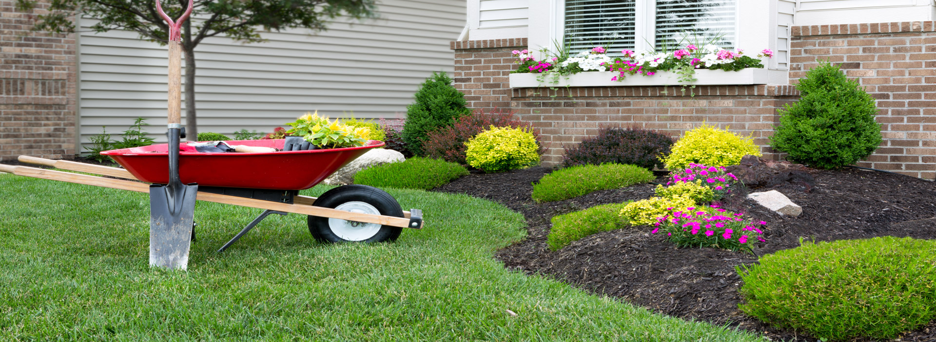 Landscaping al 39 s lawn garden chatham kent for Lawn and garden services